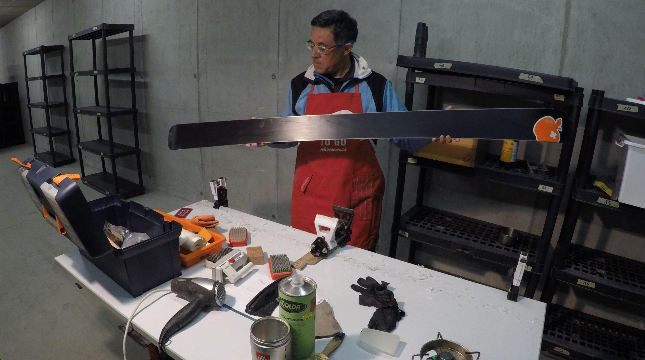 scialpinismo-laboratorio-manutenzione